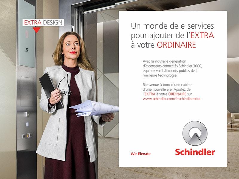 Schindler EXTRA : Découvrez le Schindler 3000, l'ascenseur d'une nouvelle ère ! - Batiweb