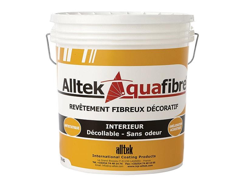 Alltek Aquafibre, un enduit décoratif d'intérieur - Batiweb