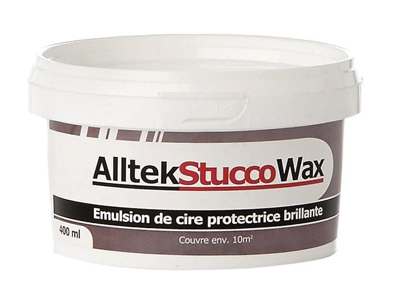 Alltek Stucco Wax, une cire pour enduit, effet stuccé - Batiweb