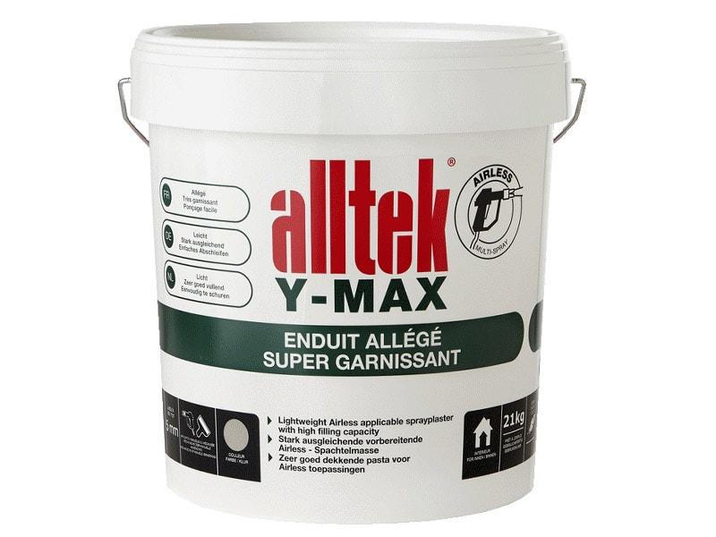 Alltek Y-Max, enduit pour dégrossir et garnir en application mécanisée - Batiweb