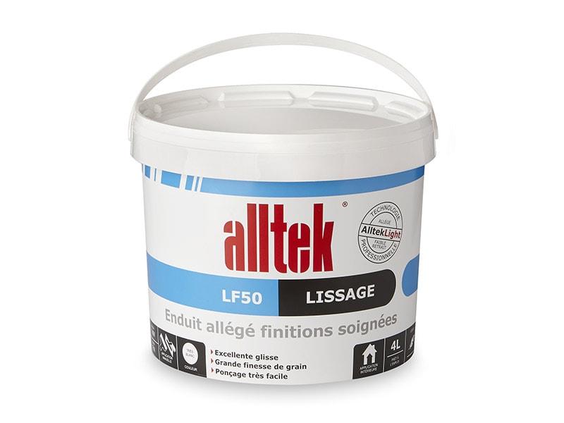 Alltek LF50, l'enduit pour lisser finement - Batiweb