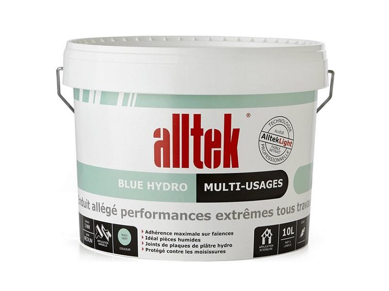 Alltek Blue Hydro, l'enduit pour coller, garnir, lisser - Batiweb