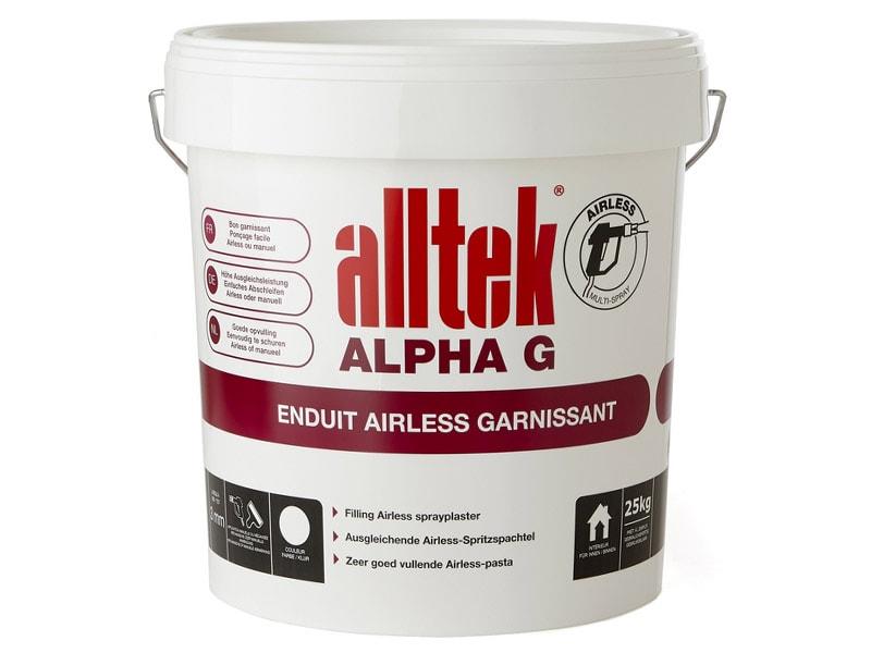 Alltek Alpha G, un enduit pour garnir et débuller - Batiweb