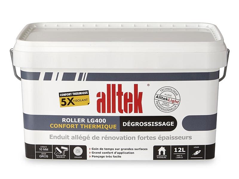 Alltek Roller LG400, l'enduit de dégrossissage très isolant - Batiweb