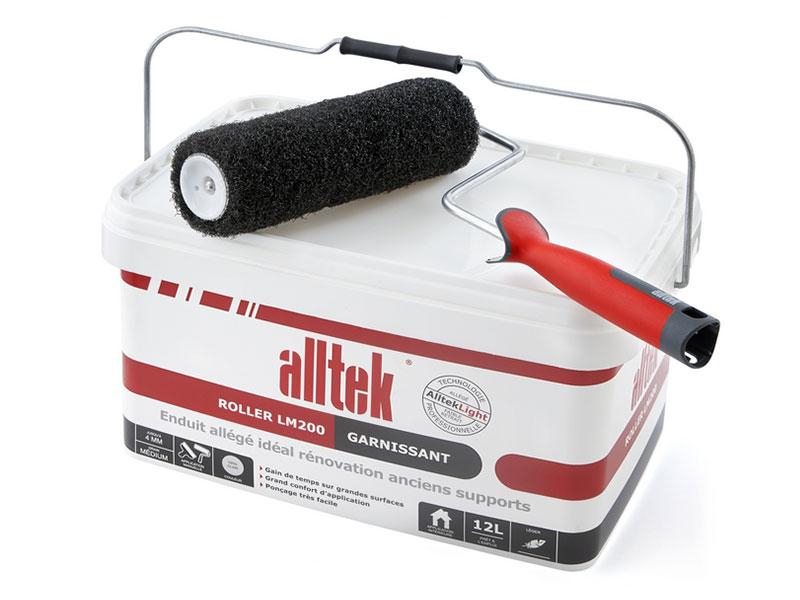 Alltek Roller LM200, l'enduit pour garnir et rénover - Batiweb