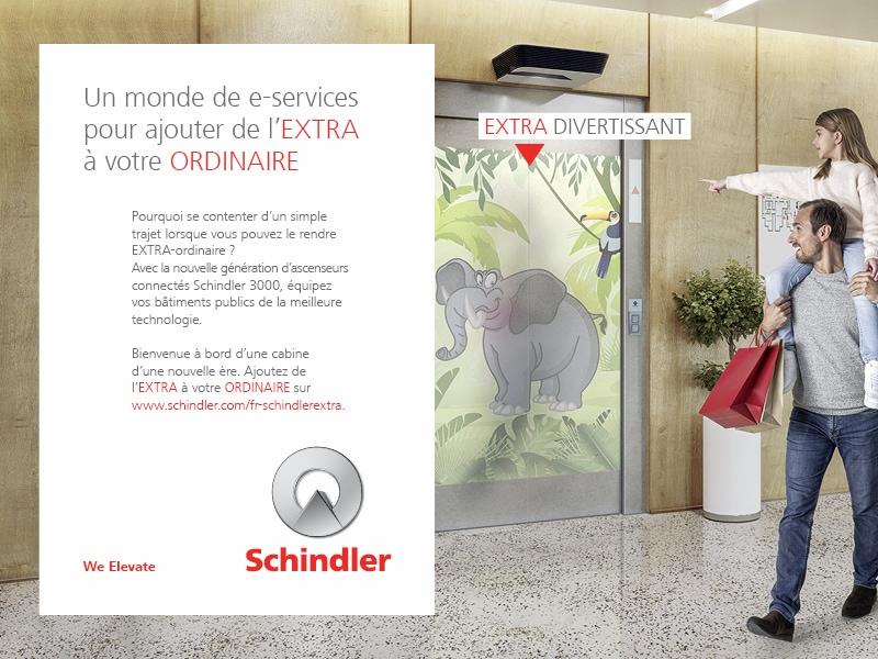 Schindler EXTRA : Découvrez le Schindler 3000, l'ascenseur d'une nouvelle ère adapté à votre hôtel ! - Batiweb
