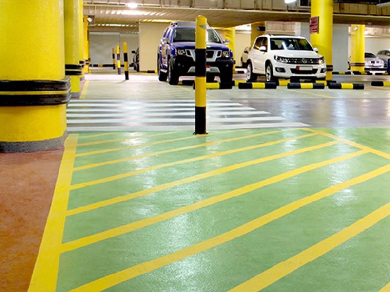 DECKSHIELD : Revêtement de sol en résine PU pour parkings - Batiweb
