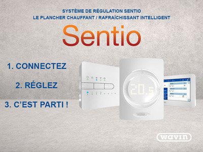Solution de régulation Wavin Sentio Batiweb