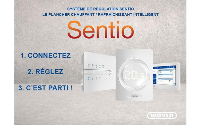 Solution de régulation Wavin Sentio - Batiweb