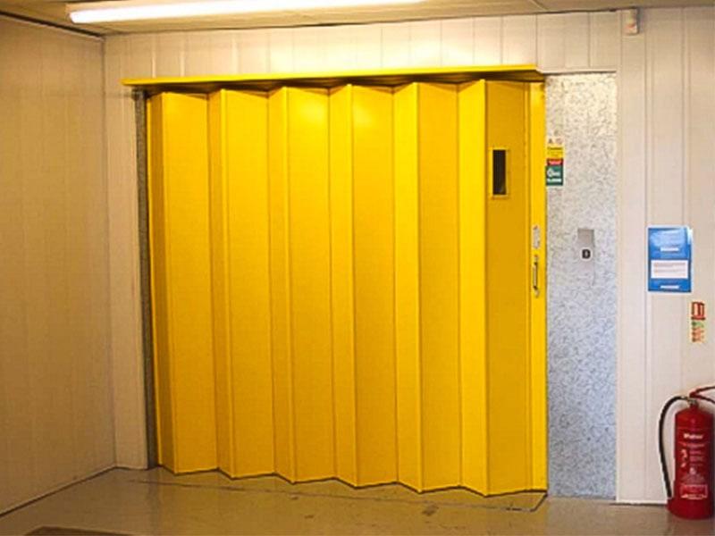 Porte coulissante pliante coupe-feu PMP120 - Batiweb