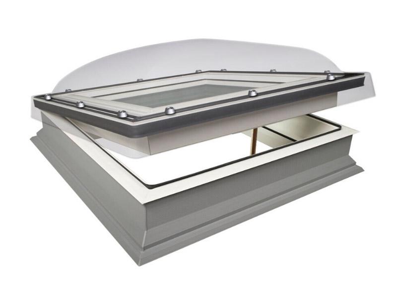 Fenêtre coupole pour toit plat FAKRO - Batiweb