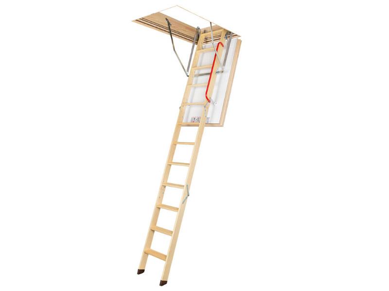 Escalier escamotable FAKRO LWT super thermo-isolant - Batiweb