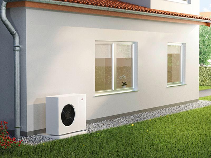 GeniAir, la pompe à chaleur air / eau monobloc facile à installer - Batiweb