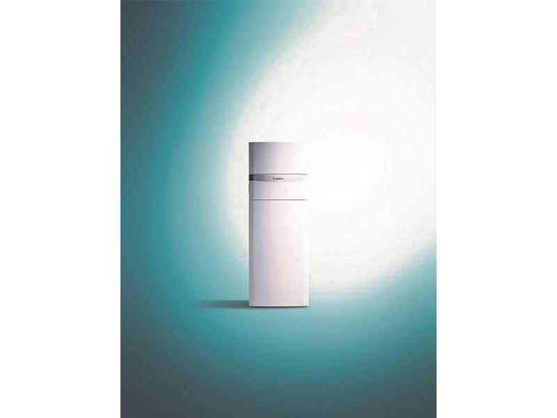 Chaudières sol gaz double service ecoCOMPACT et colonnes solaires double service auroCOMPACT - Batiweb