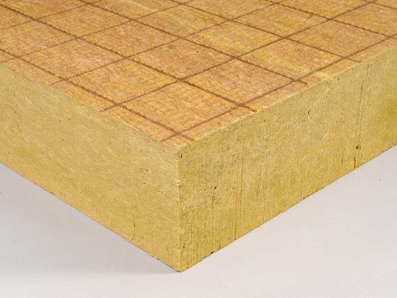Rockacier B Nu Energy, panneau isolant en laine de roche pour toitures terrasses inaccessibles - Batiweb