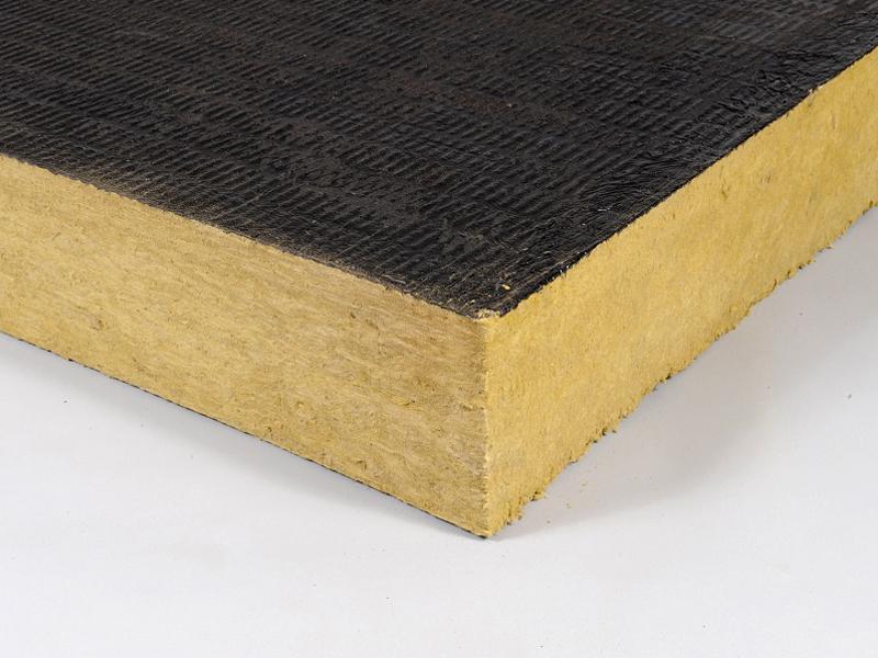 Rockacier B soudable Energy, panneau isolant en laine de roche pour toitures terrasses inaccessibles - Batiweb