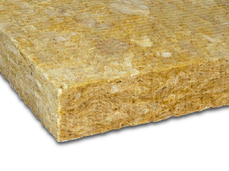 Sorock, panneau isolant en laine de roche - Batiweb
