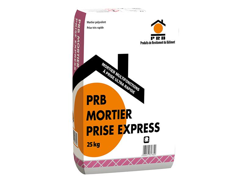 PRB MORTIER PRISE EXPRESS : Mortier multifonction à prise ultra rapide - Batiweb