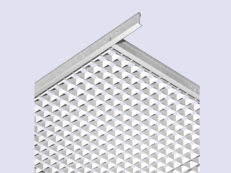 Square Mono Monoline, grille cellulaire - Batiweb