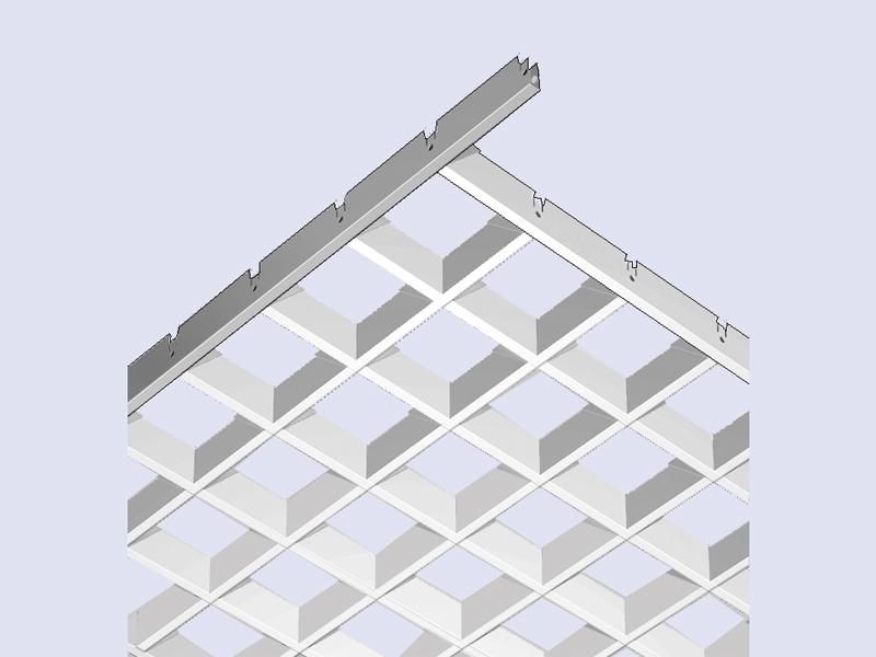 Square i Grilum, grille cellulaire - Batiweb