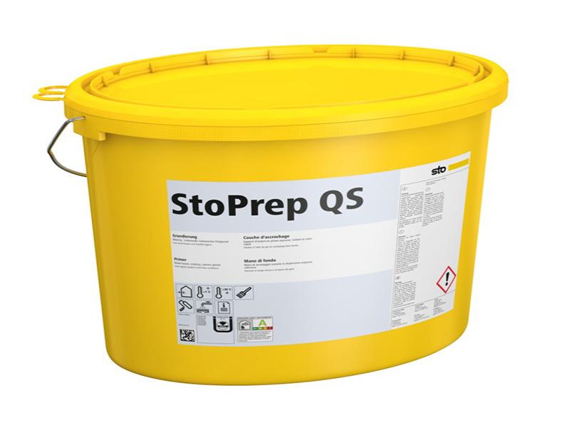 StoPrep QS : Impression à pouvoir isolant en phase aqueuse en période hivernale - Batiweb