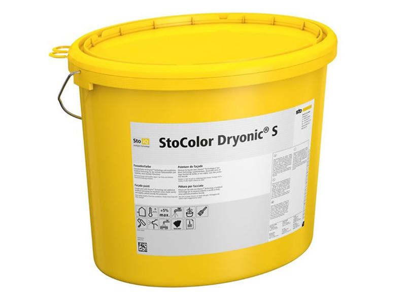 StoColor Dryonic S - Peinture de façade avec Dryonic® Technology et SunBlock Technology, disponible dans un large éventail de teintes - Batiweb