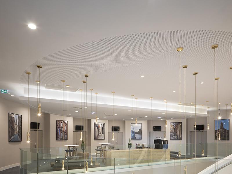 Knauf Delta - mur ou plafond acoustique non démontable - Batiweb
