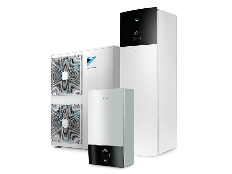 Pompe à chaleur DAIKIN 3 H MT haute température - Batiweb