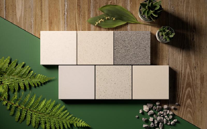 Nouvelles couleurs recyclées des panneaux HI-MACS® - Batiweb
