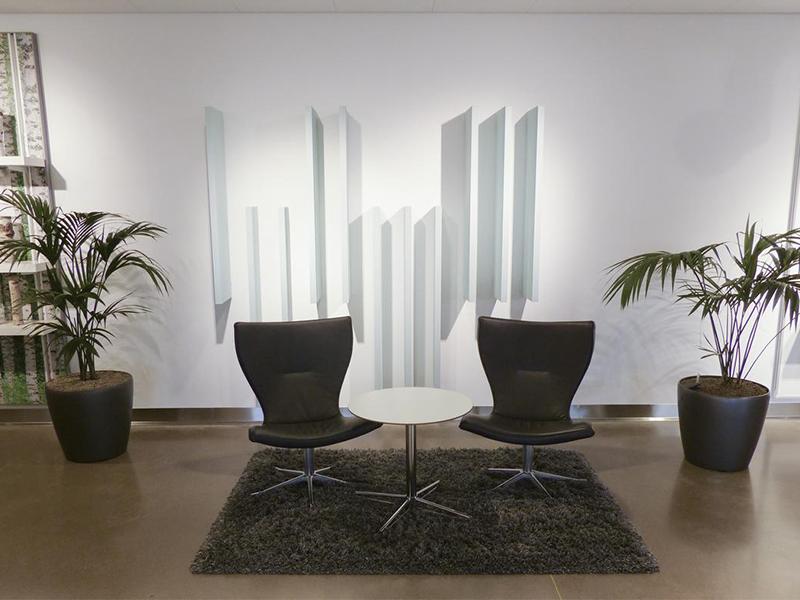 Ecophon Solo™ Baffle Wall : unités flottantes et panneaux muraux acoustiques - Batiweb