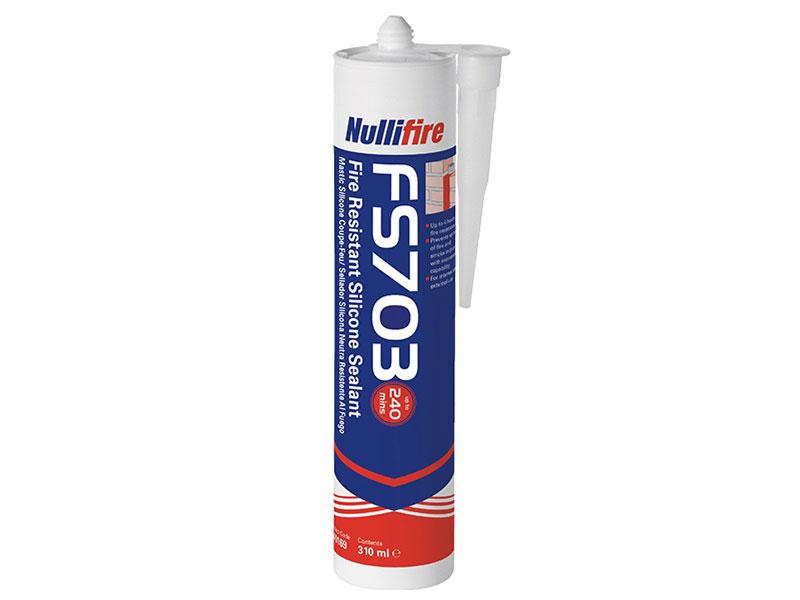 FS703 : Mastic Silicone Coupe-Feu - Batiweb