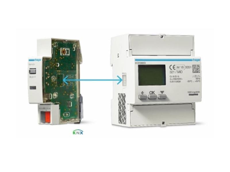 Passerelle KNX TXF121 de communication pour compteurs d'énergie Hager - Batiweb