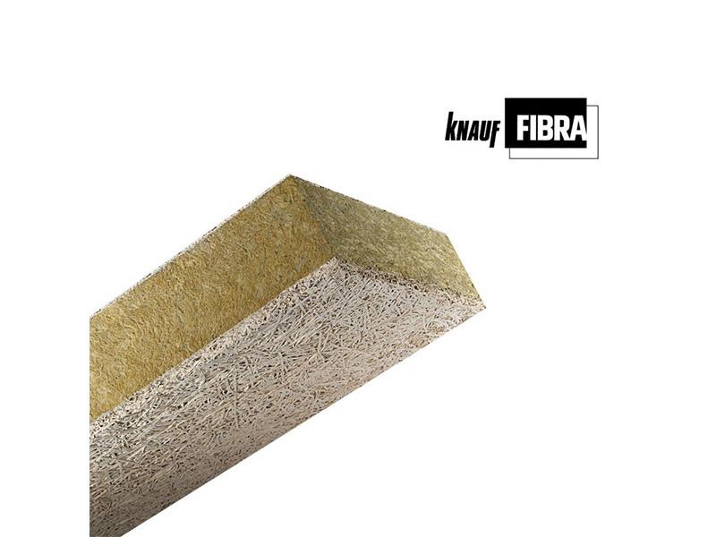Knauf FIBRAROC A2 35 : panneaux en laine de bois isolants - Batiweb