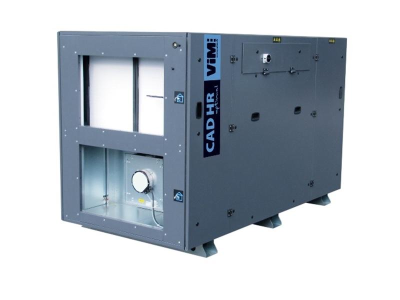 CAD HR OPTIMAL : CTA double flux échangeur à contre-courant - Batiweb