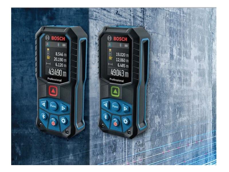 Télémètre laser connecté Bosch - GLM 50-27 C Professional - Batiweb
