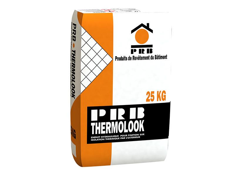 THERMOLOOK GF/GM : enduit hydraulique pour finition sur isolation thermique par l'extérieur - Batiweb