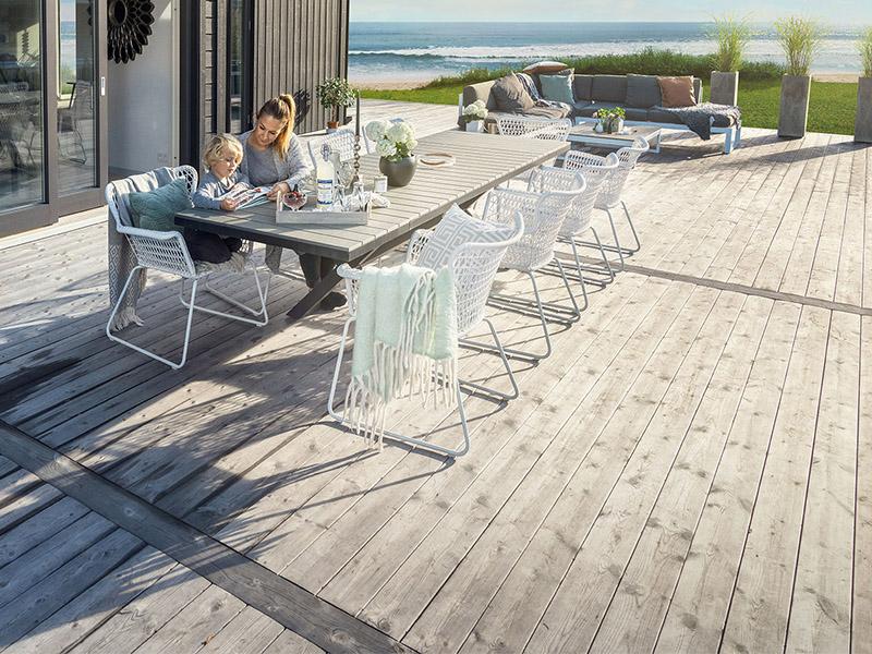 Terrasse HEARTWOOD : une terrasse esthétique et naturelle - Batiweb