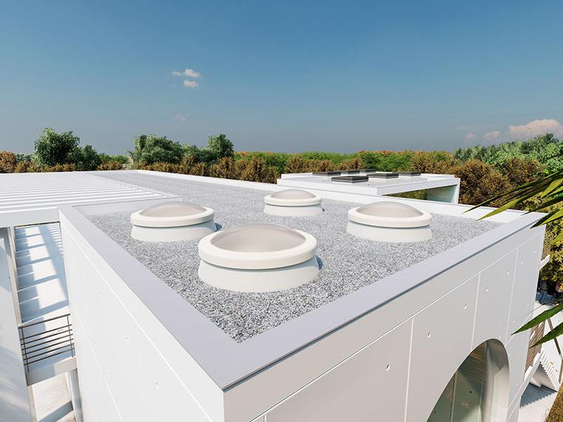 LAMILUX Rooflight F100 Circular - Batiweb