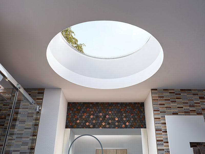 LAMILUX Glass Skylight F100 Circular - Batiweb