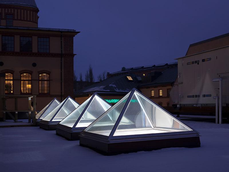 LAMILUX Glass Skylight FE Pyramid - Batiweb