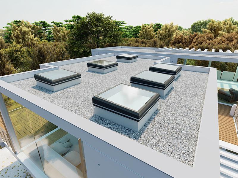 LAMILUX Glass Skylight FE 3° - Batiweb