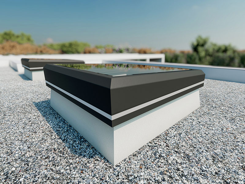 LAMILUX Glass Skylight FE 3° - Batiweb