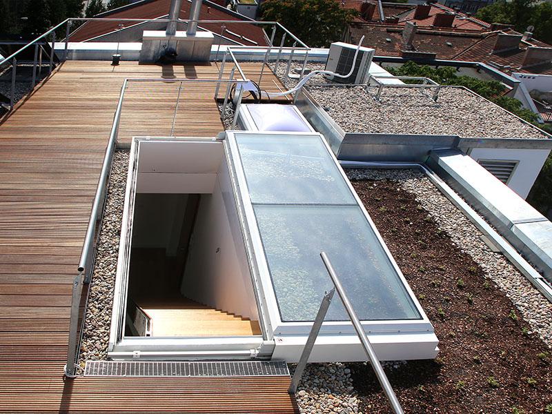 LAMILUX Flat Roof Exit Comfort Solo - Batiweb