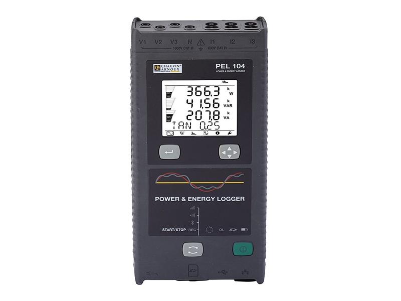 PEL104 : Enregistreur de puissance et compteur d'énergie - Batiweb