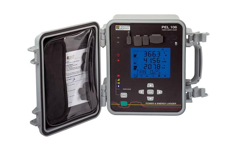 PEL106 : Enregistreur de puissance et compteur d'énergie - Batiweb
