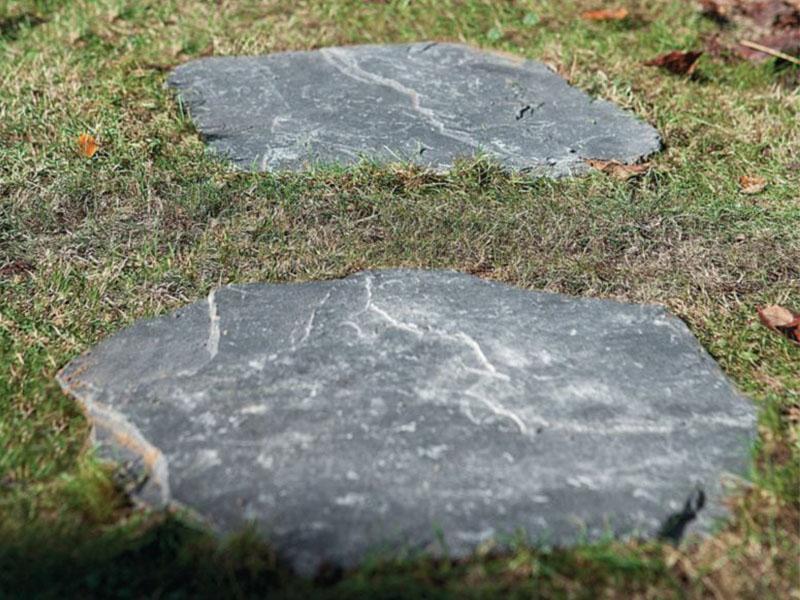 Point P propose le Pas japonais sol extérieur quartzite naturelle de Chine - ardoise par GONMAR - Batiweb