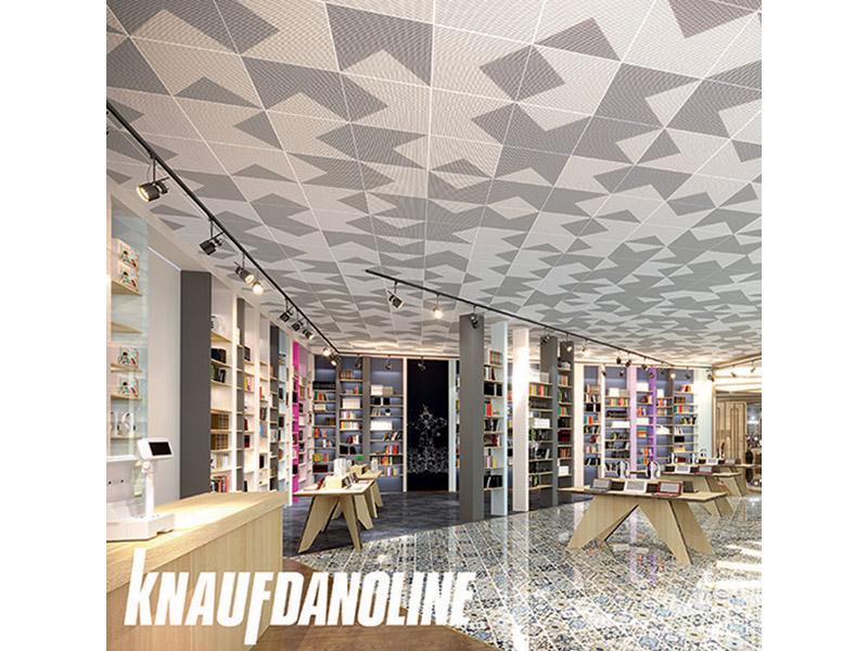 Danoline Creative, personnalisation du plafond acoustique - Batiweb
