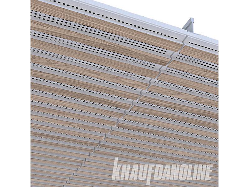 Plafond Modulaire Acoustique Knauf DANOLINE - ROLD12 - Batiweb