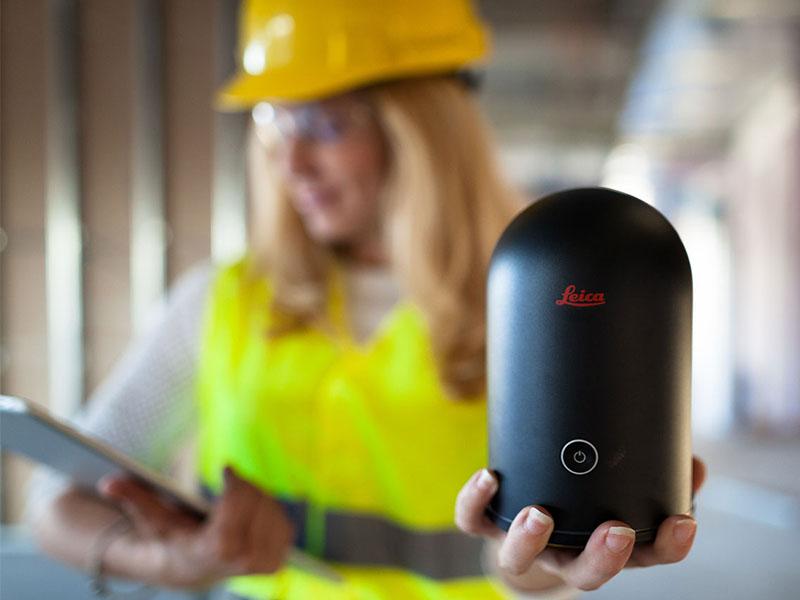 Leica BLK360 : Scanner Laser avec imagerie - Batiweb