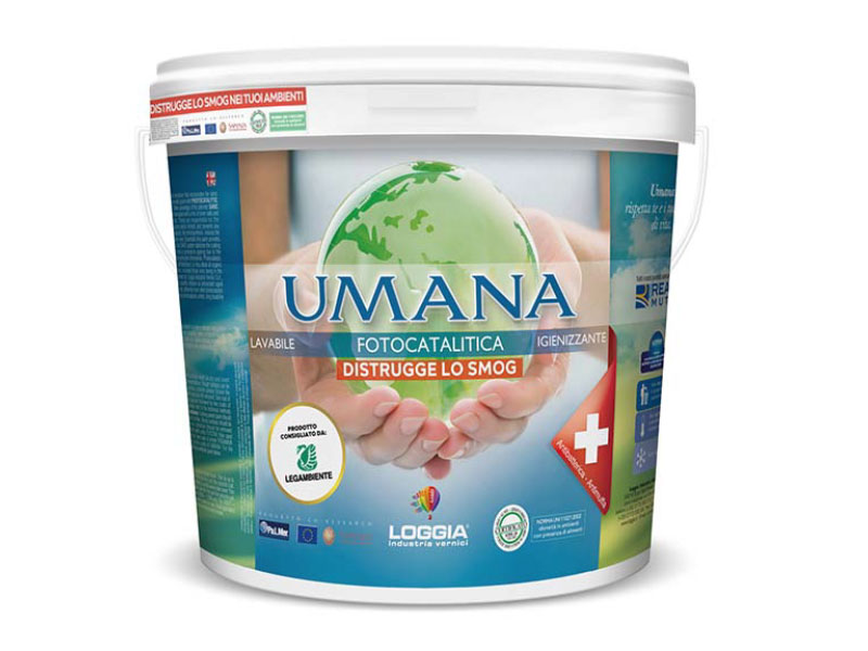Umana® : la première peinture efficace dans  la lutte contre la Covid-19 - Batiweb